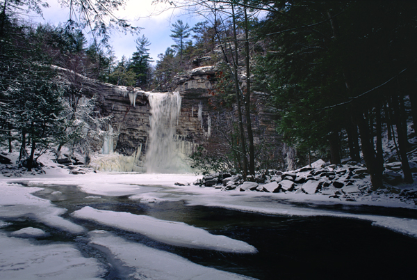 Awosting Falls, Winter [81]